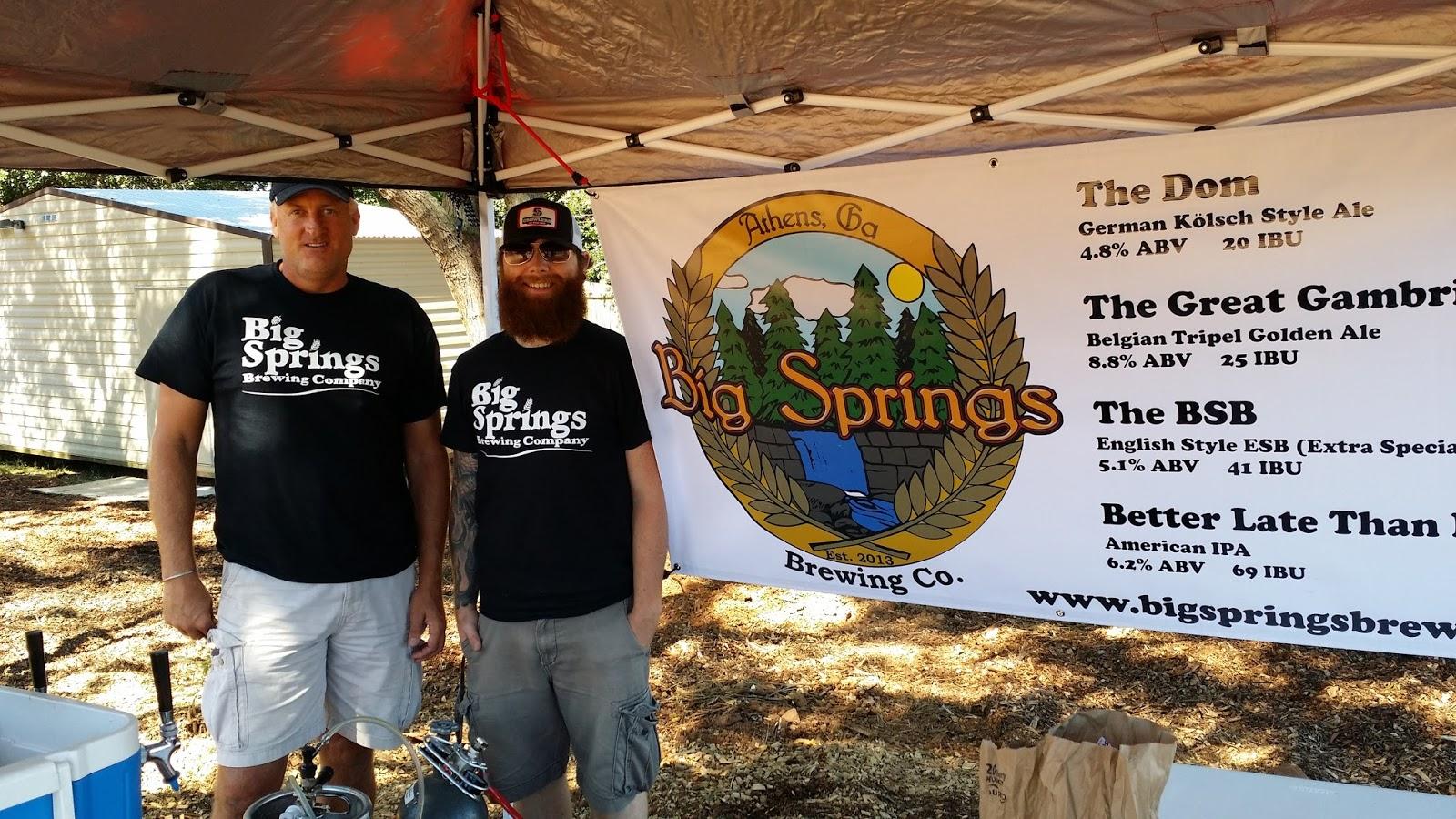 Beer Wench Georgia Big Springs Brewing Debuts At Bark And