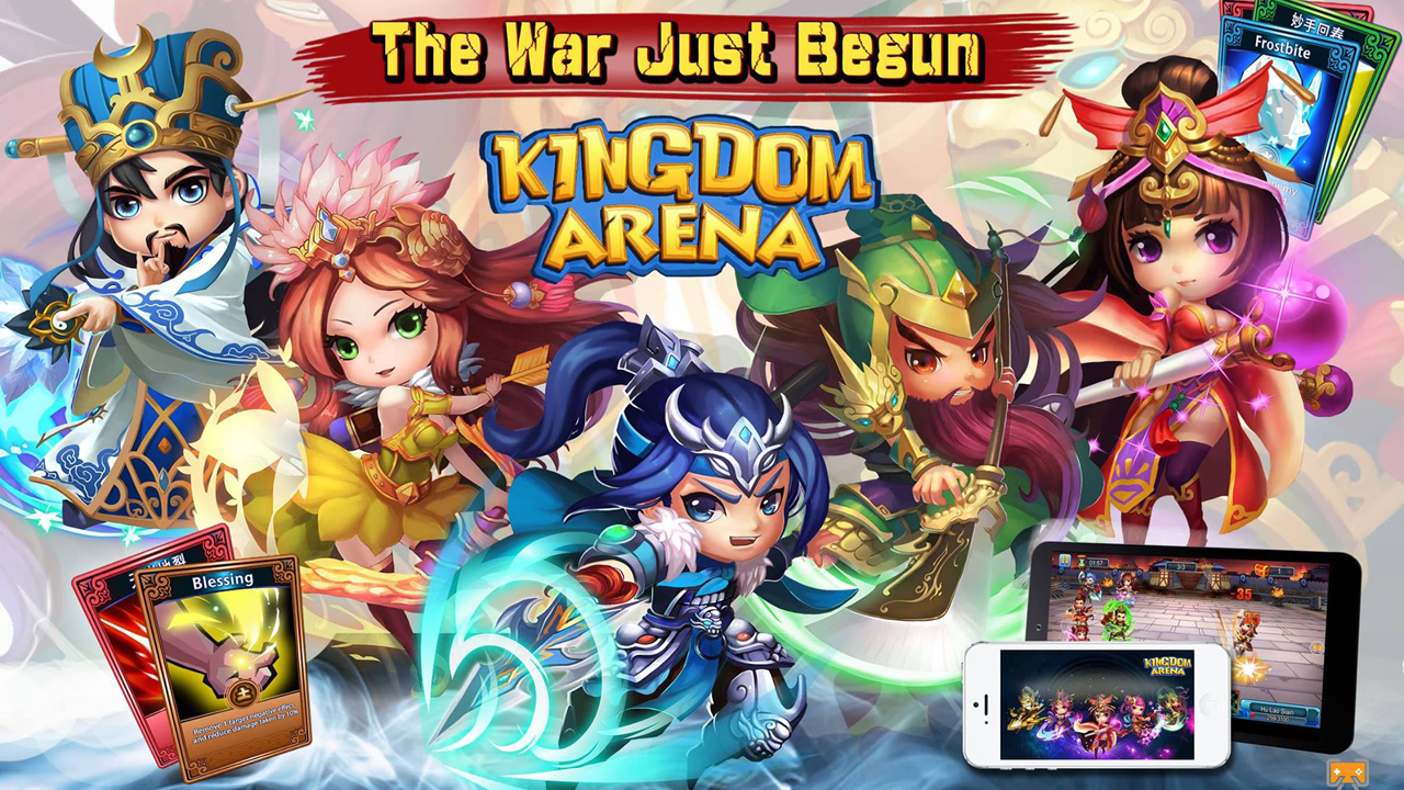 Kingdom Arena Gameplay IOS / Android
