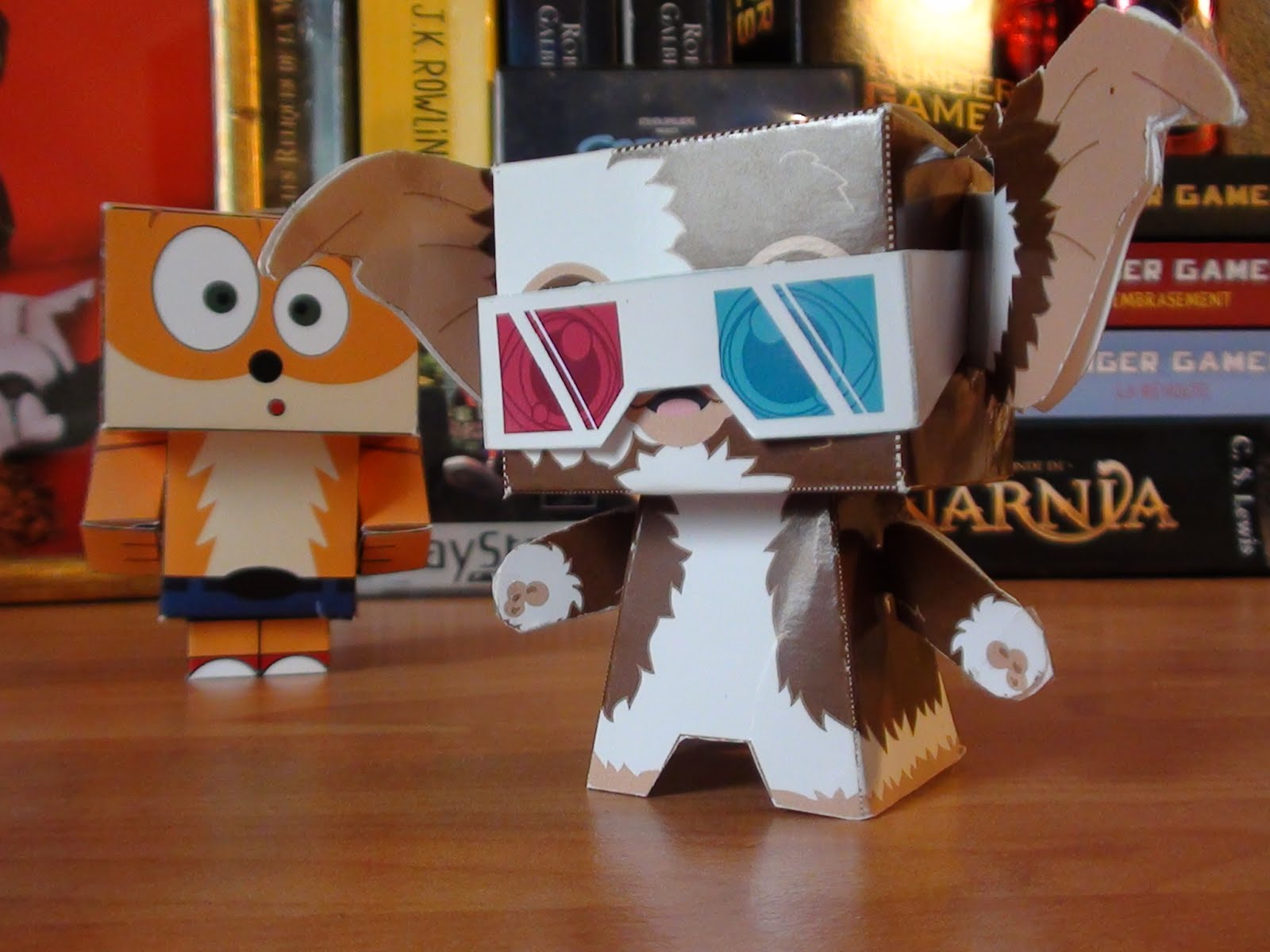 Cubeecrafts Gizmo et Crash B.