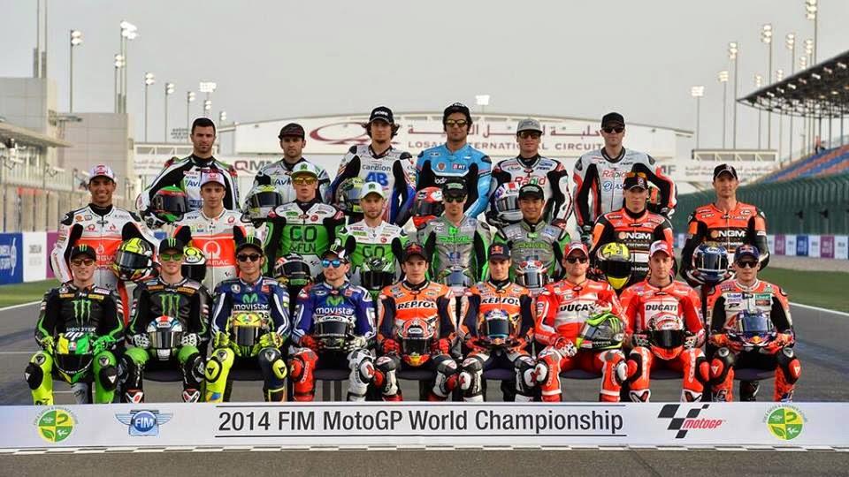 Pembalap Moto GP 2014