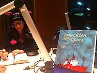 Anita Bonilla directora de arte del Cómic Expedición Malaspina