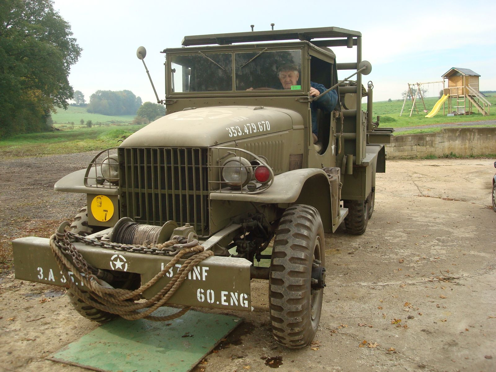 WW2 Trucks for Sale http://panzermaus.blogspot.com/2011/07/gmc-bolster-truck-for-sale.html