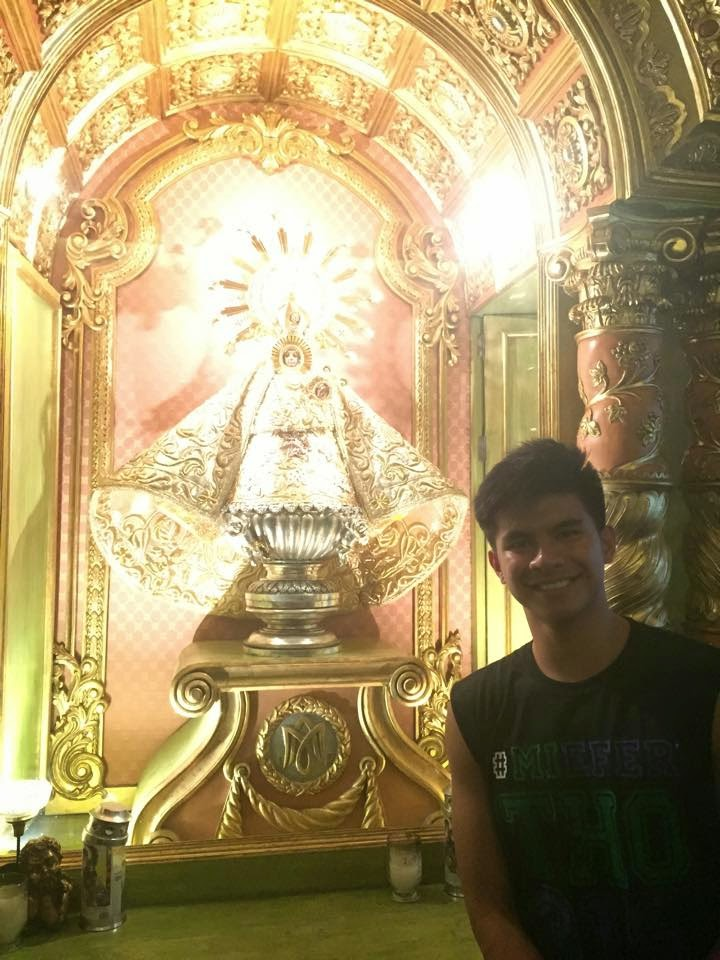 Kiefer Ravena Naga City