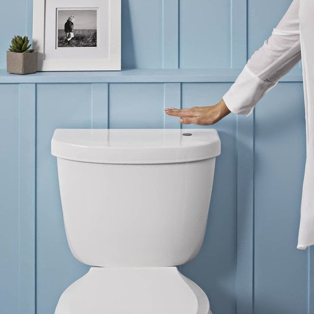 Smart Gesture Controlled Gadgets - Touchless Toilet Flush Kit by Kohler