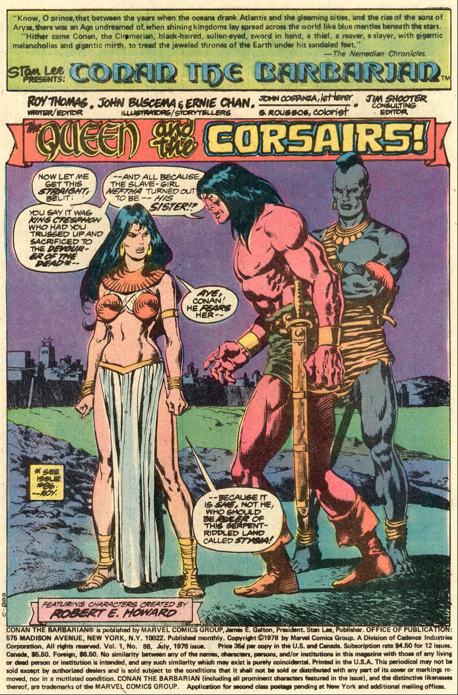 Conan the Barbarian (1970) Issue #88 #100 - English 2