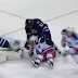 Dustin Byfuglien cross-checks J.T. Miller in the head (Video)