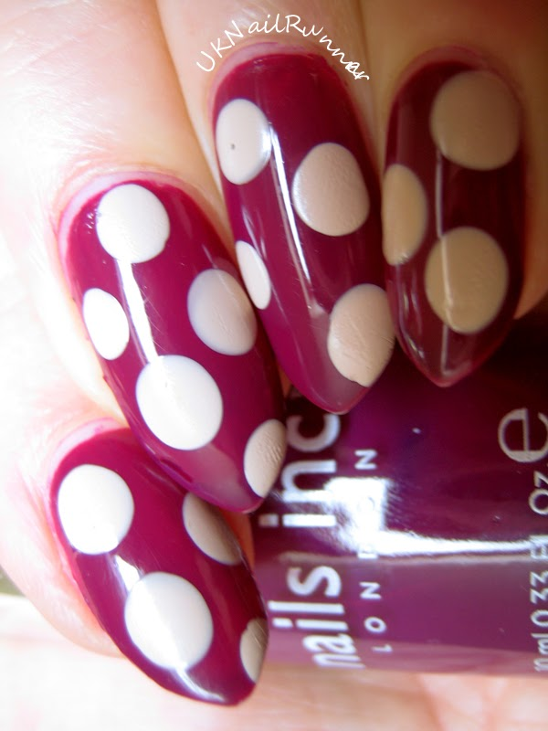 Nails Inc St Martins Lane with Barry M Lychee Dots
