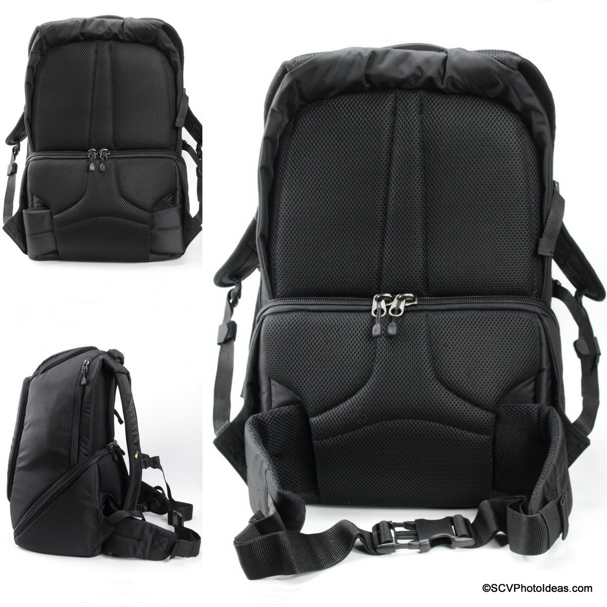 Case Logic DSB-103 back-panel and waist belt details