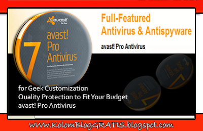 Download Avast PRO Terbaru Full Crack - Antivirus & Antispyware | Free