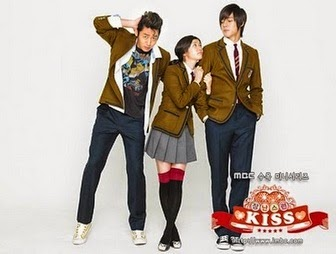 Poster drama Korea Naughty Kiss (2010)