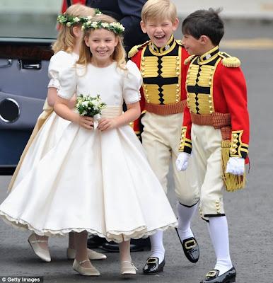 Damas de honra vestidos infantil