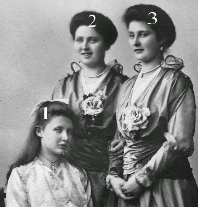 Margarete, Therese et Amalie de Wurtemberg