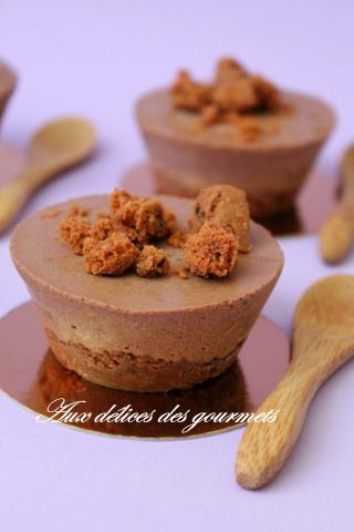 PARFAITS GLACÉS AU CHOCOLAT