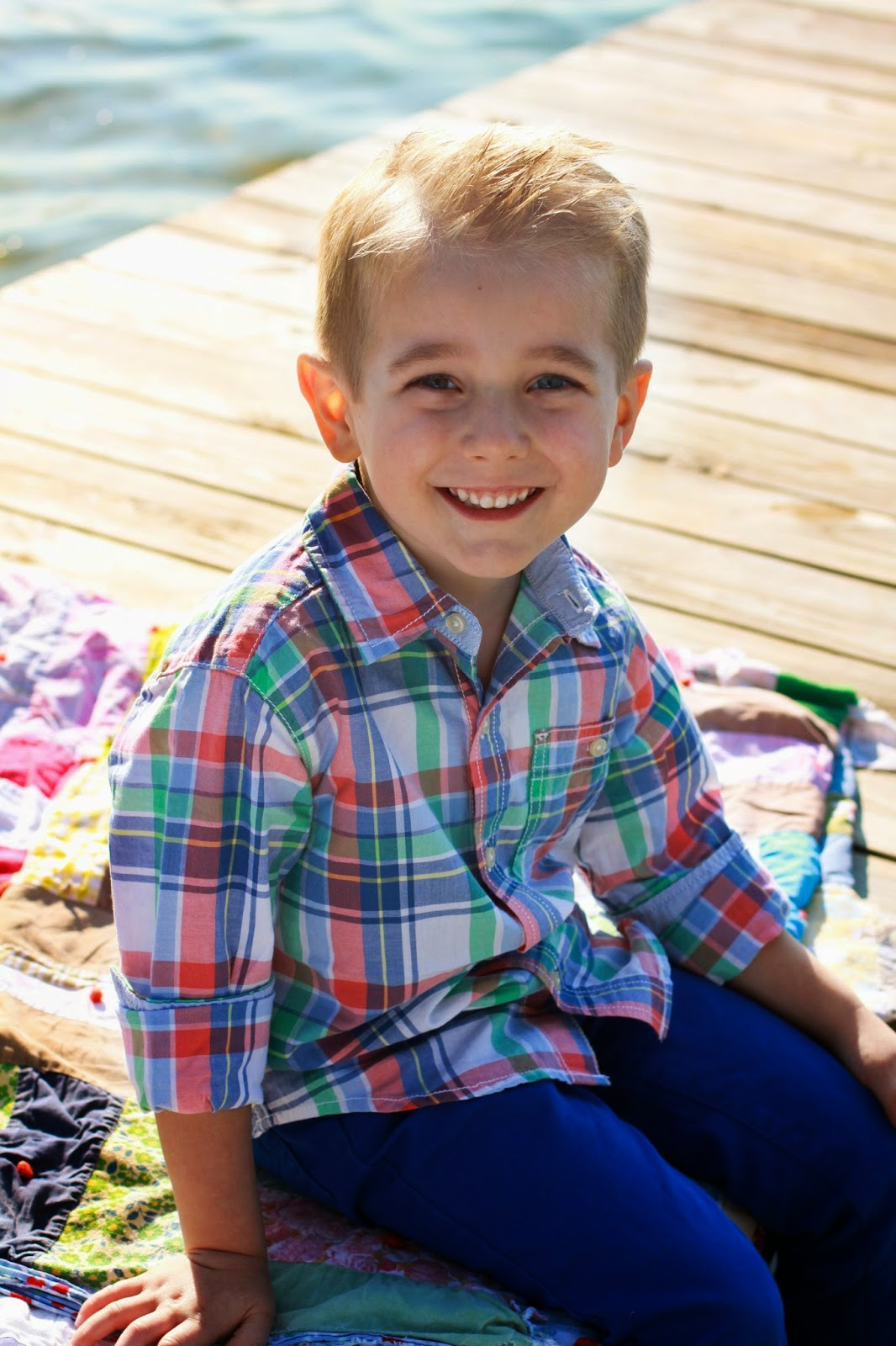 The Journey of Parenthood: Kyes 5 Year Old Photos
