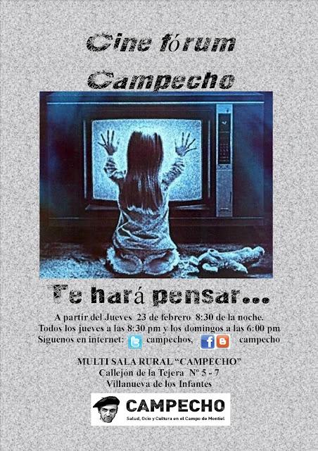 Cine Fórum en Campecho