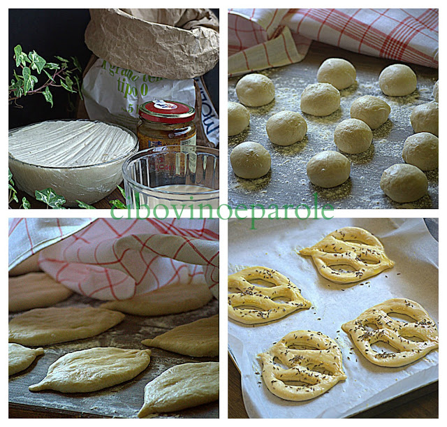 step by step for lent bread