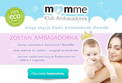Zostań ambasadorką MomMe .