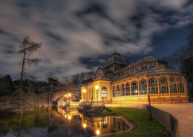 Испания,архитектура Испании,Кристальный дворец,Плацио де Кристалл,Парк де Ретиро,Мадрид
