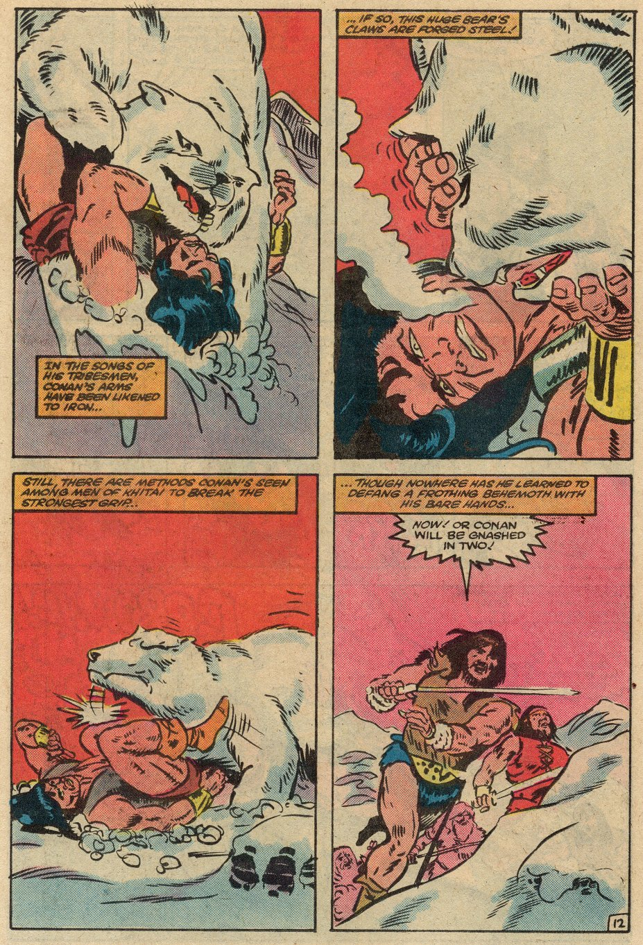 Conan the Barbarian (1970) Issue #145 #157 - English 13