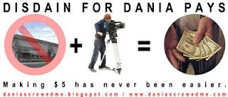 make $5 for filming your dania hate!