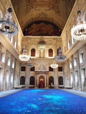 Sala Burgenzaal del Palacio Real de Ámsterdam