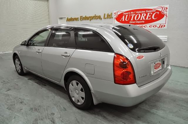2005 Nissan Primera for Bahamas to Nassau