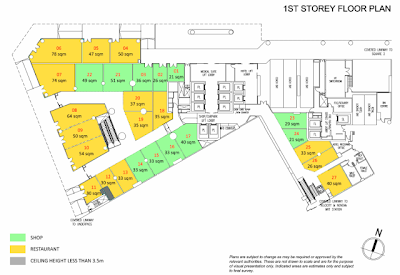 Royal Square @ Novena 1st storey shop floor plan
