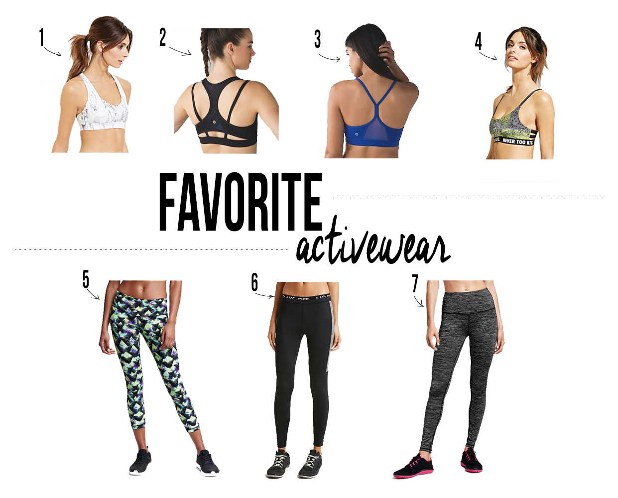 favorite activewear options