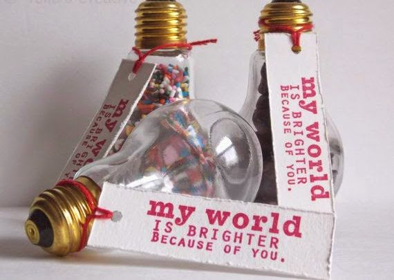 Light Bulb Valentineu0027s Day Craft Ideas