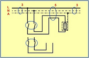Double pole switch wiring drawings