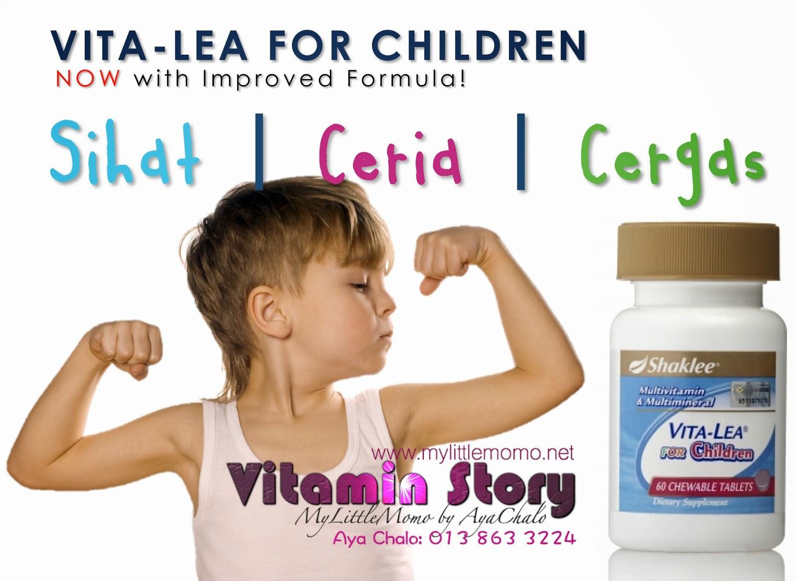 Vitamin Kanak-kanak Shaklee