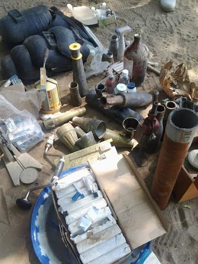 Another Boko Haram kingpin arrested in Borno, troops uncover rocket making factory