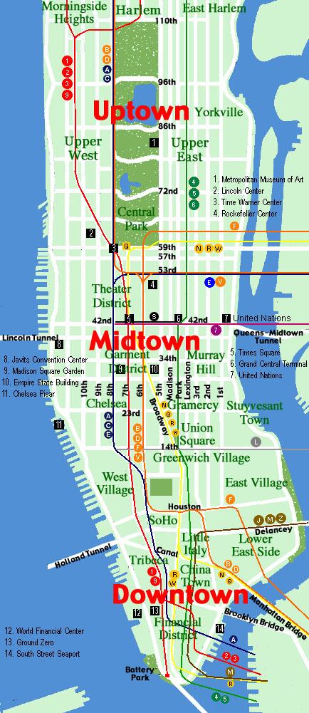 Chinatown To Staten Island Ferry Manhattan