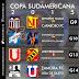 Equipos venezolanos ya conocen sus rivales en Copa Sudamericana