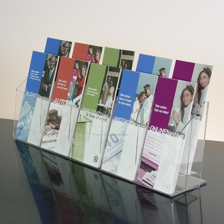 Brochure Kiosk Pics: Brochure Holder Countertop