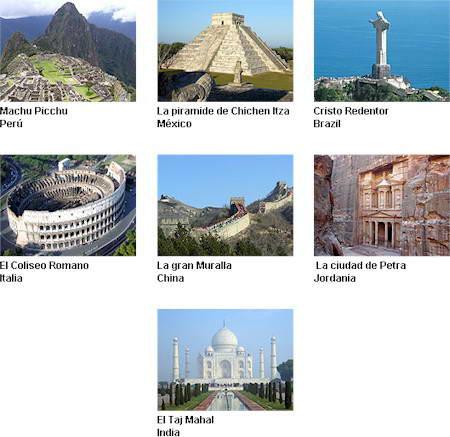 las 7maravillas del mundo antiguo: