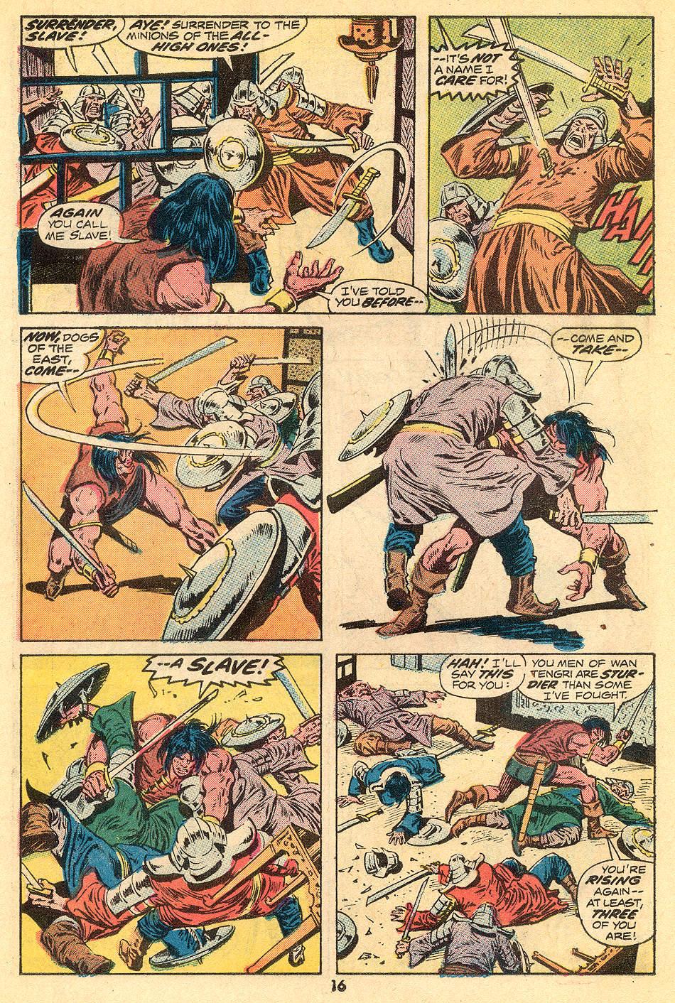 Conan the Barbarian (1970) Issue #32 #44 - English 11