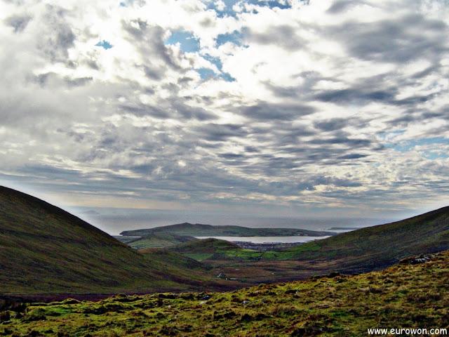 Vista desde lo alto del Conor Pass