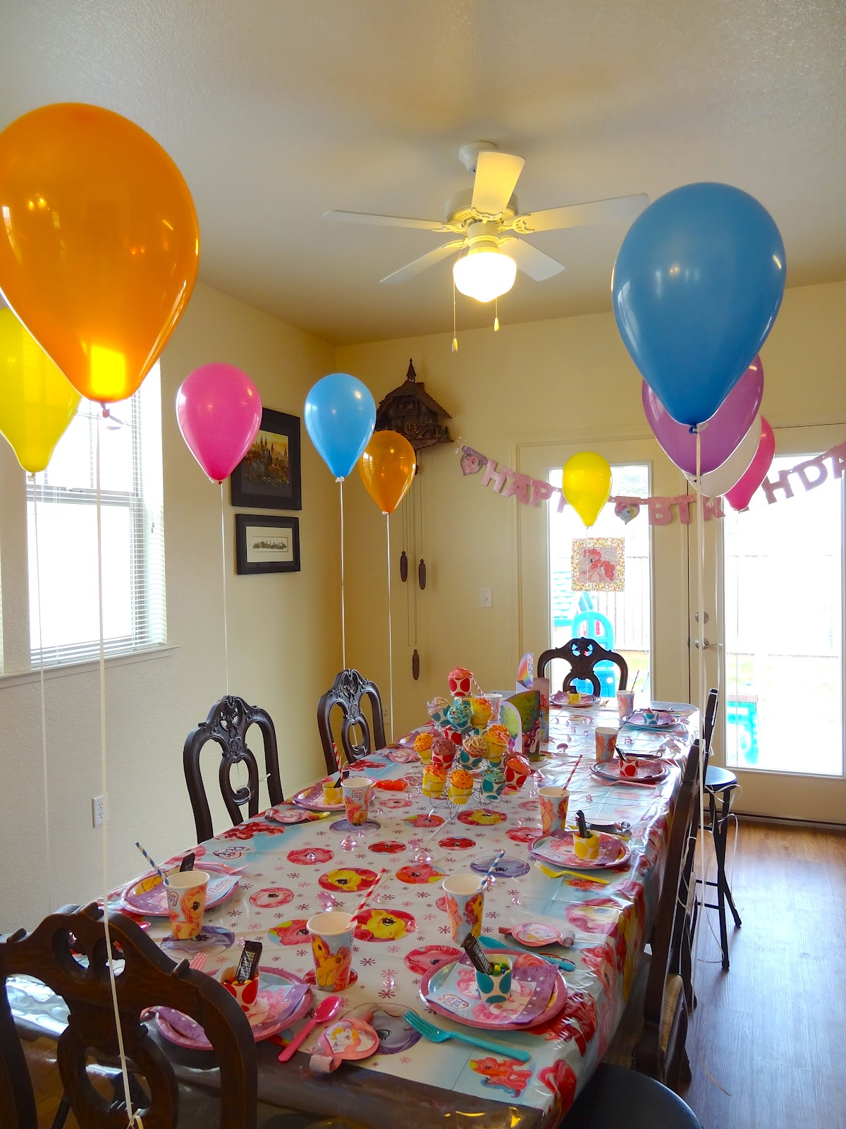 welcome to the krazy kingdom: taya's 5th birthday party - my little pony