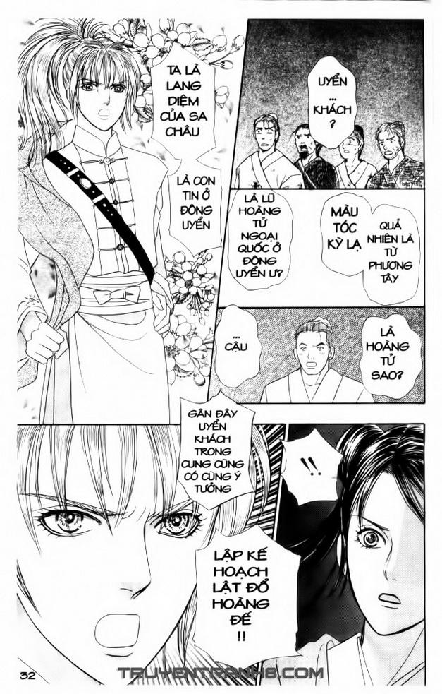 Đôi Cánh ỷ Thiên - Iten No Tsubasa chap 11 - Trang 14