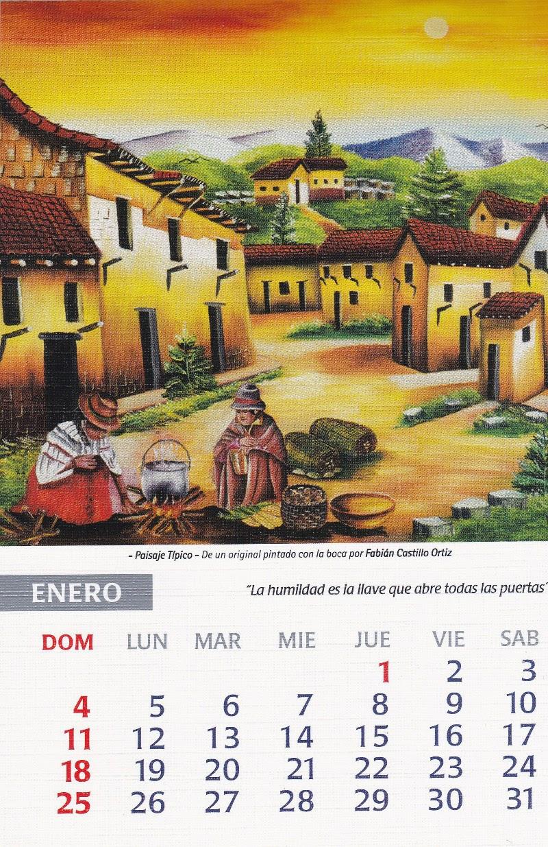 calendario 2015 enero