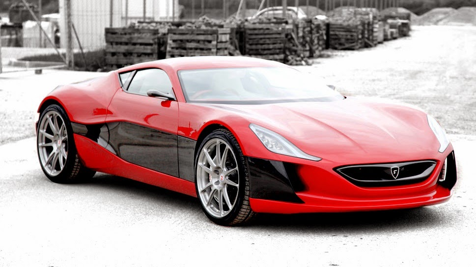 Rimac Concept One Top Speed