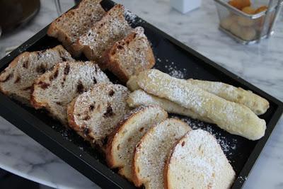 Tabla de pan en el Rte. de Koldo Miranda. Blog Esteban capdevila