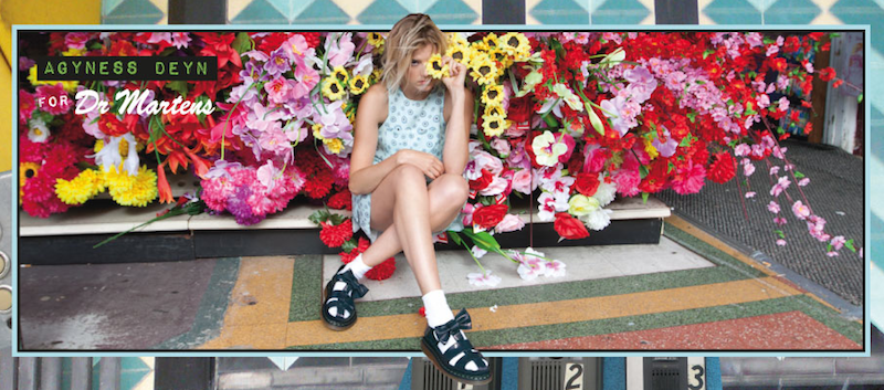 Agyness Deyn Dr Martens Collection SS13