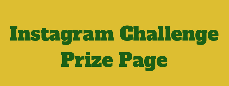 Instagram Challenge Prize Page