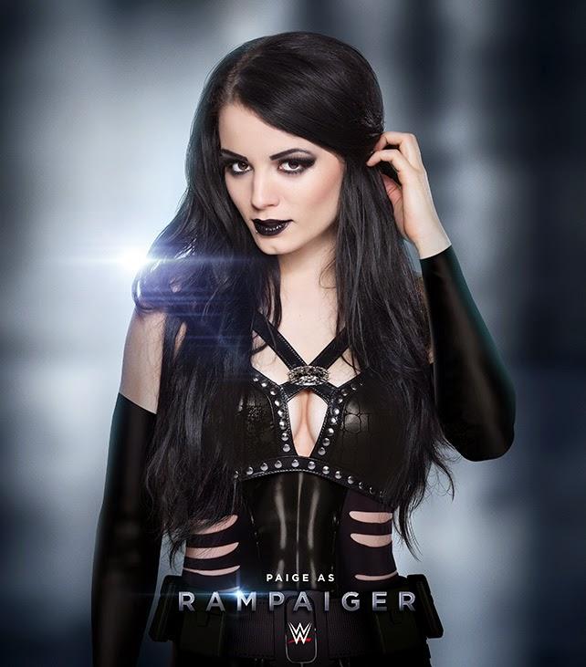 WWE Diva Paige as Rampaige