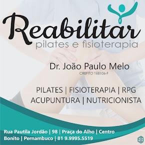 Reabilitar Pilates e Fisioterapia