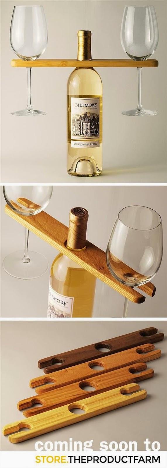 2. Glass Holder for Wine