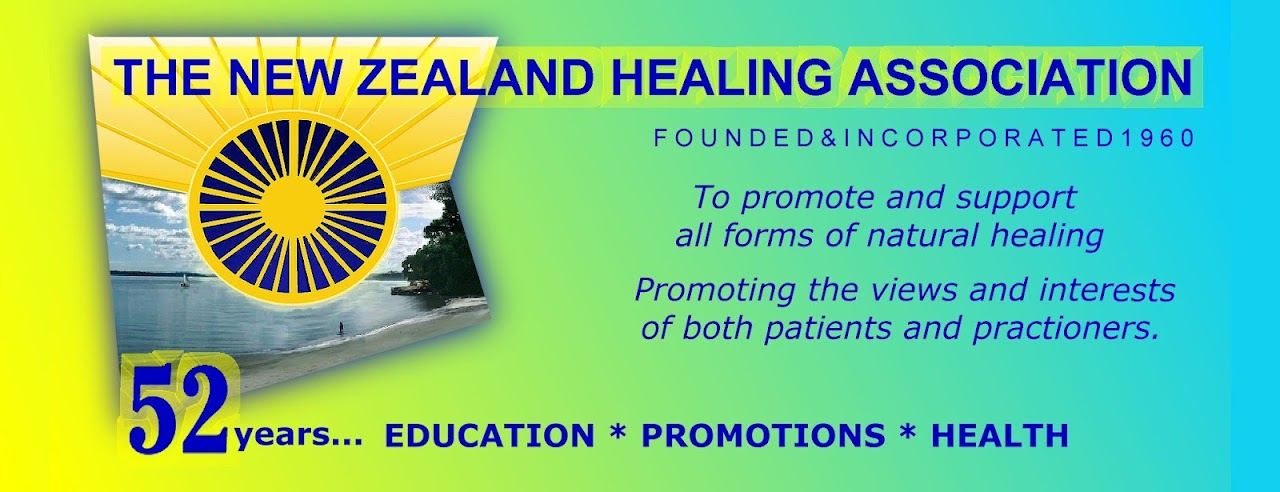 THE NEW ZEALAND HEALING ASSOCIATION : Helping Mental Health and Well being