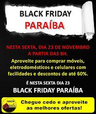 Aproveite o Black Friday Paraíba